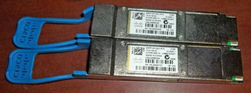 One Genuine Cisco QSFP-4X10G-LR-S 10-3118-02 Module / Adapter