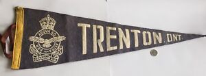 Vintage and Collectable WW2 RCAF CFB Trenton Banner