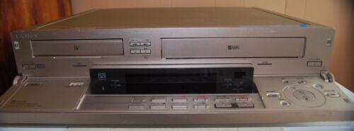 Sony ES WV-DR7 DV/Mini DV + SVHS/VHS Video Player Recorder Dual Deck VCR EX