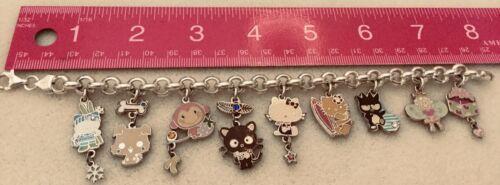 Hello Kitty Sterling & Costume Charm Bracelet