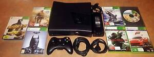 XBOX 360SLIM 250GB +7 GAMES +HDMI CABLE +CONTROLLER +ALL CABLES Keilor Downs Brimbank Area Preview