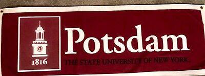 Potsdam Bears The State University Of New York  Banner