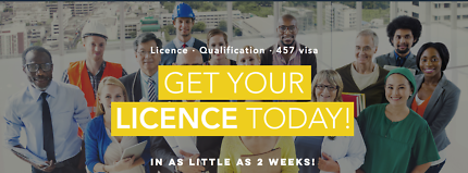 GET YOUR CONTRACTOR LICENCE IN 2 WEEKS!