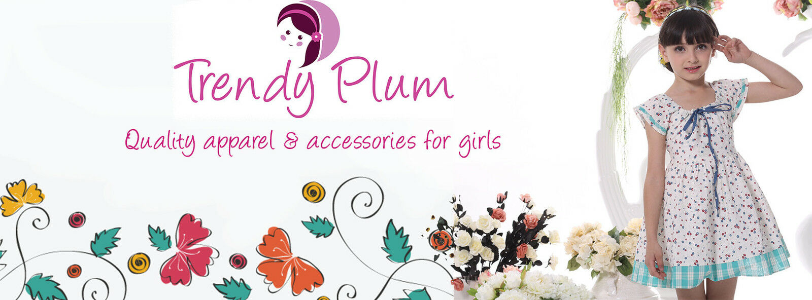 Trendy Plum Girls Apparel