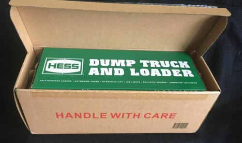 2017 HESS DUMP TRUCK AND LOADER - BRAND NEW! FACTORY SEALED