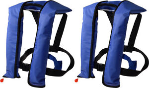 LOT 2~Automatic/Manuel Life Jacket Vest Auto Inflatable PFD Survival Floatation