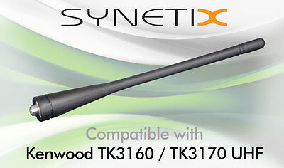 KENWOOD UHF WHIP ANTENNA FOR TK3160 TK3170 x 1