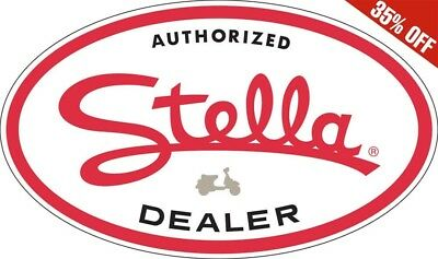 - Oval Genuine Scooter Company Authorized Stella Sign