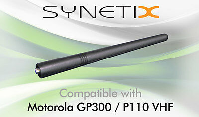 MOTOROLA VHF DOME TOP ANTENNA FOR CP040 DP1400 GP300 P110 P210 HT600E HT800 x