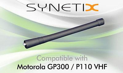 MOTOROLA VHF FLAT TOP ANTENNA FOR CP040 DP1400 GP300 P110 P210 HT600E HT800 x 1