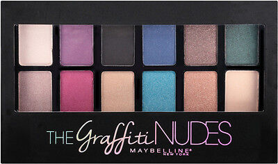 Maybelline The Graffiti Nudes Eye Shadow Palette Full Size New Sealed Authentic