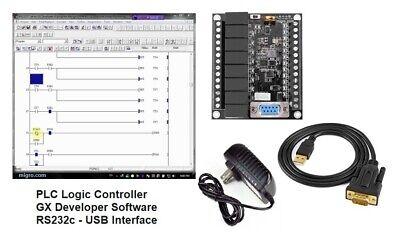 Automation Training Kit Plc Professional Programming Ladder Logic Software Usb