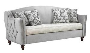 CANADIAN MADE TUFTED BACK SOFAS /LOVESEAT /CHAIR ON SALE (AD 279)