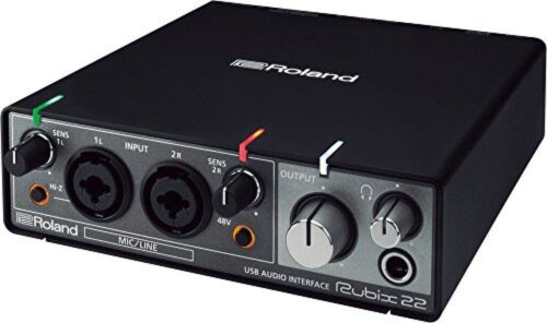 Roland Rubix22 USB audio interface Roland RUBIX-22 from japan F/S