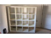 4x4 Ikea Kallax / Expedit Shelves / Shelving Unit / Storage in White
