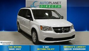 2016 Dodge Grand Caravan 1SXT, Bluetooth, Uconnect, $73/Wk!