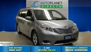2016 Toyota Sienna LE 8 Passenger, Clean Carproof, $100/Wk!