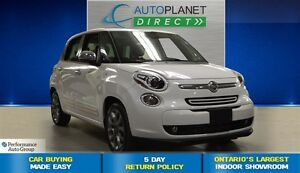 2015 Fiat 500L Lounge, Back Up Cam, Navi, Pano Roof, $56/Wk!