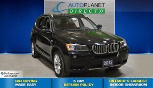 2013 BMW X3 28i xDrive Premium Pkg, Navi, Sunroof, $125/Wk!