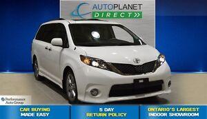2013 Toyota Sienna SE 8 Passenger, Sunroof, $104/Wk!