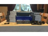 SONY PS2. PLAYSTATION CONSOLE. BOXED+36 GAMES.