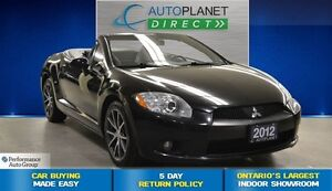 2012 Mitsubishi ECLIPSE SPYDER GT-P, CLEAN CARPROOF, Leather, $7