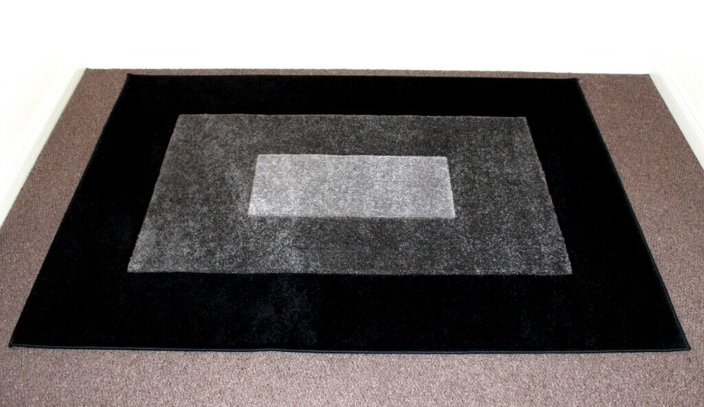 Wilko Large Soft Stain Resistant Tamara Rug Carpet Charcoal Black Grey 120 X 170cm Rrp 50 In Derby Derbyshire Gumtree
