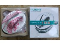 REMINGTON IPL-5000 i-LIGHT HAIR REMOVAL SYSTEM+ 3 Lamps IPL5000-Used Twice only