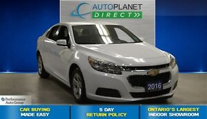 2016 Chevrolet Malibu LT,  16 Inch Alloys, Bluetooth, $56/Wk!