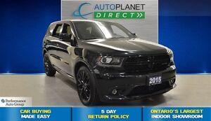 2015 Dodge Durango R/T, Navi, Sunroof, Leather, $158/Wk!