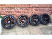 "19"" 5x112 Audi R8 alloys wheels tyres Vw Seat Skoda"