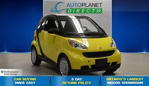 2010 smart fortwo pure + ONT Veh! + CLEAN CARPROOF + A/C + $25/W