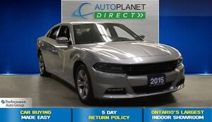 2015 Dodge Charger SXT, Heated Seats, Bluetooth, $77/Wk!