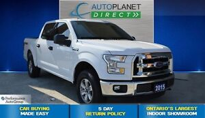 2015 Ford F-150 XLT, ONE Owner, Keyless, $118/Wk!