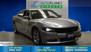 2015 Dodge Charger SXT, Ontario Vehicle, Bluetooth, $78/Wk!