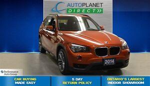 2014 BMW X1 xDrive28i, Ontario Vehicle, Navi, Panoroof, $108/W