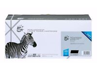 Laser Toner Cartridge, black ink, remanufactured. replacement for HP CF280F