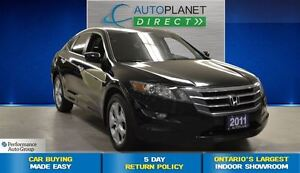 2011 Honda Accord Crosstour EX-L, Sunroof, Leather, $77/Wk!