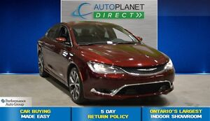 2016 Chrysler 200 C, Pano Roof, Back Up Cam, $77/Wk!
