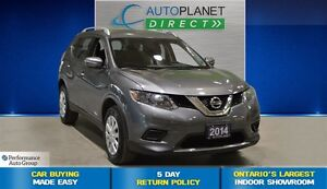 2014 Nissan Rogue S AWD, Back Up Cam, Bluetooth, $83/Wk!