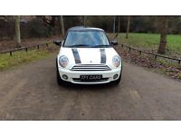 ✅MINI HATCH COOPER 1.6✅3MONTHS Warranty✅Service History✅12MONTHS MOT✅Low Mileage 62000k✅Pepper White