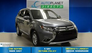 2016 Mitsubishi Outlander SE, Heated Seats, Bluetooth, $76/Wk!