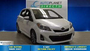 2012 Toyota Yaris SE, Ontario Vehicle, Clean Carproof, $44/Wk!