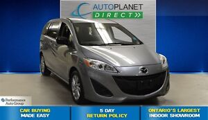 2015 Mazda MAZDA5 GS, Convenience Pkg, Bluetooth, $52/Wk!