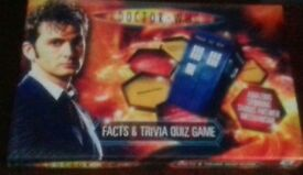 Dr Who. Facts & Trivia Quiz Game - New