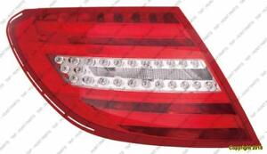 Tail Lamp Passenger Side Led Type Coupe/Sedan High Quality Mercedes C-Class 2012-2014