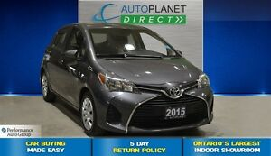 2015 Toyota Yaris LE, Ontario Vehicle, Bluetooth, $42/Wk!