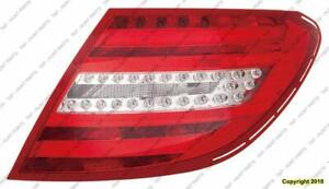 Tail Light Driver Side Led Type Coupe/Sedan High Quality Mercedes C-Class 2012-2014