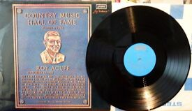 2 X ROY ACUFF VINYL LPs., ROY ACUFF TIME and COUNTRY MUSIC HALL OF FAME.