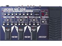 BOSS ME50B MultiFX Bass Pedal